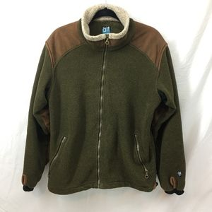 Kuhl Alpenwurx Heavy Weight Fleece Jacket Olive